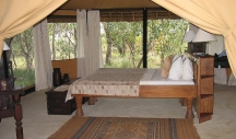 Tented accommodation Selous Safari Camp - Tanzania